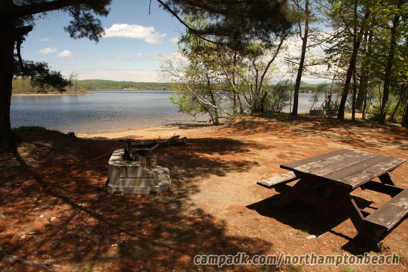Northampton beach photo database fish creek pond campground for Fish creek pond